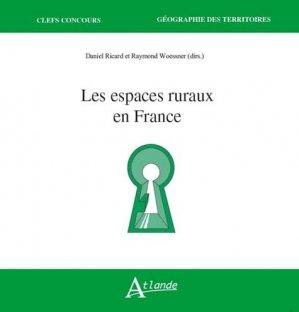 Les espaces ruraux en France-atlande-9782350305233