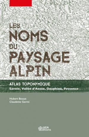 Les noms du paysage alpin-uga-9782377470709