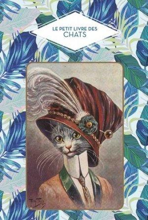 Le petit livre des chats-papier cadeau-9782379640452
