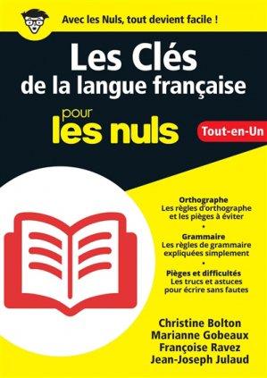 Les clés de la langue française pour les nuls-first-9782412039816