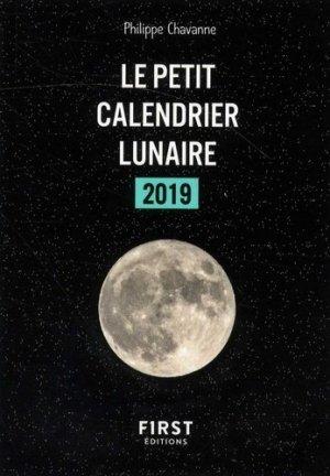 Le petit calendrier lunaire 2019-first-9782412040379