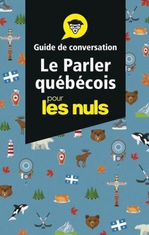 Le parler québécois-First-9782412048115