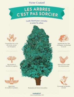 Les arbres, c'est pas sorcier - marabout - 9782501140973