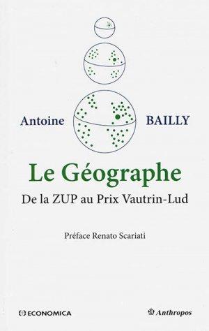 Le Géographe - economica anthropos - 9782717869385