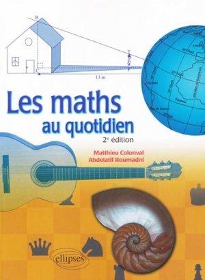 Les maths au quotidien-ellipses-9782729861728
