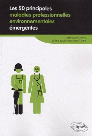 Les 50 principales maladies professionnelles environnementales émergentes-ellipses-9782729862114