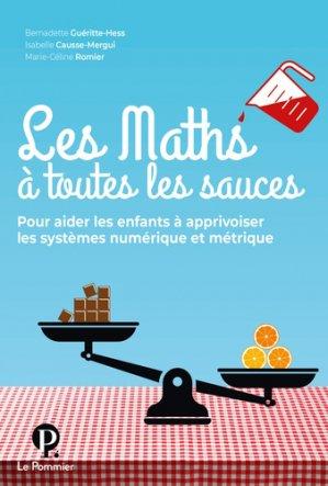 Les Maths à toutes les sauces-le pommier-9782746518698