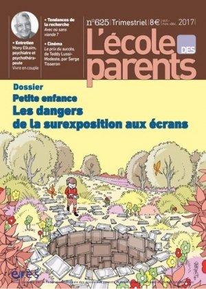 Lécole des parents petite enfance-eres-9782749256801