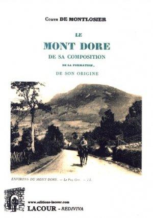 Le Mont Dore - lacour - 9782750449063