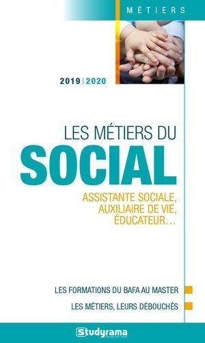 Les métiers du social-Studyrama-9782759040353