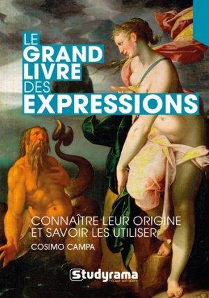 Le grand livre des expressions-Studyrama-9782759040476