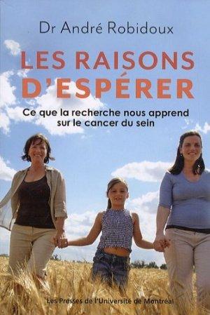Les raisons d'espérer-presses de l'universite de montréal-9782760631502