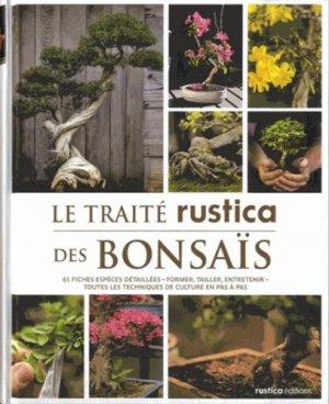 Le traité rustica des bonsaïs - rustica - 9782815302531
