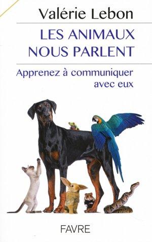 Les animaux nous parlent-favre-9782828916114