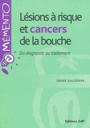 Lésions à risque et cancers de la bouche-cdp-9782843611094
