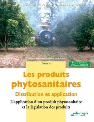 Les produits phytosanitaires Tome 2 - educagri - 9782844448354