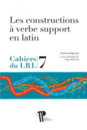 Les constructions à verbe support en latin-presses universitaires blaise pascal-9782845168237