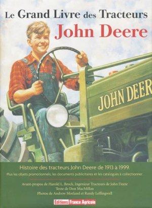 Le grand livre des tracteurs John Deere-france agricole-9782855571522