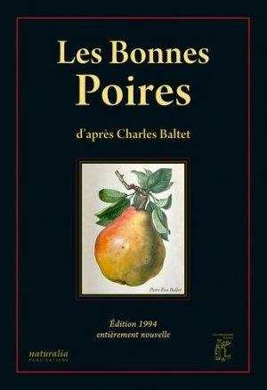 Les bonnes poires d'après Charles Baltet-naturalia publications-9782909717609