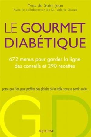 Le Gourmet diabétique-aqualyne-9782954182933