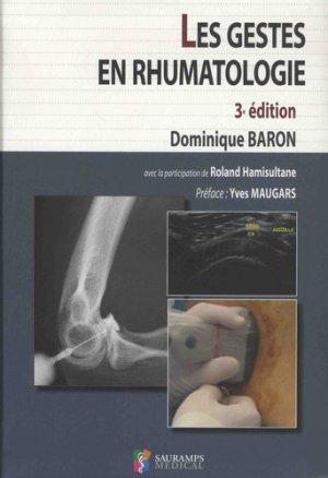 Les gestes en rhumatologie-sauramps medical-9791030301892