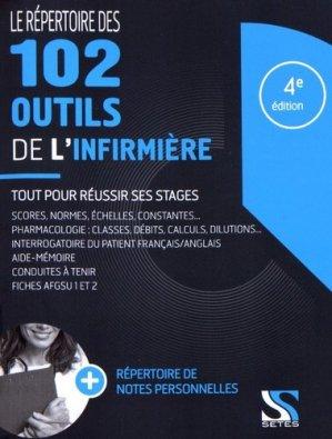 Le répertoire des 102 outils de l'infirmière-setes-9791091515580