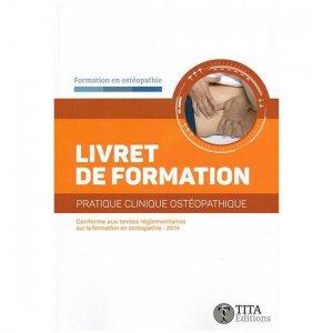 Livret de formation pratique clinique ostéopathique-tita-9791092847055