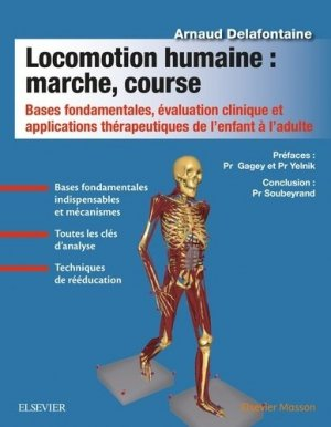 Locomotion humaine : marche, course-elsevier / masson-9782294755040
