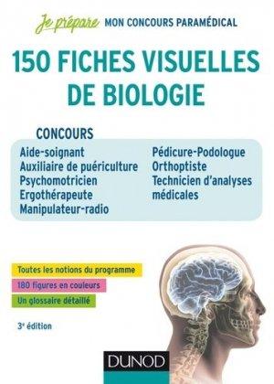 150 fiches visuelles de biologie pour réviser les concours paramédicaux-dunod-9782100776047