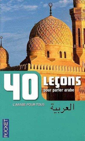 40 Leçons pour Parler Arabe-pocket-9782266189101
