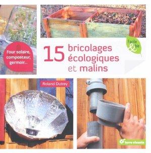 15 Bricolages écologiques et malins-terre vivante-9782360980703