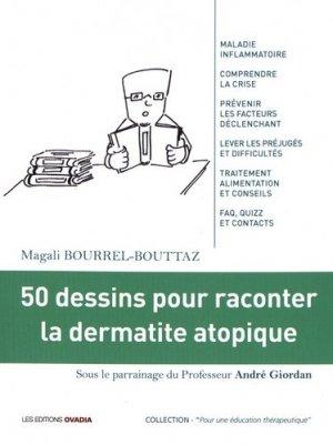 50 dessins pour raconter la dermatite atopique-ovadia-9782363922953