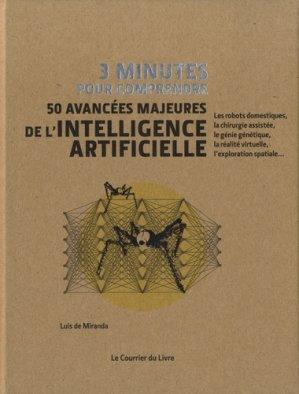 50 avancées majeures de l'intelligence artificielle-le courrier du livre-9782702915141