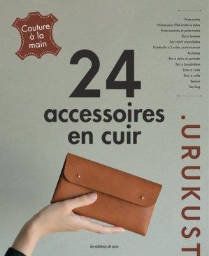 24 accessoires en cuir-de saxe -9782756533179