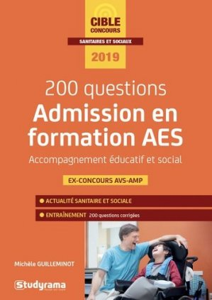 200 questions - Admission en formation AES-studyrama-9782759039081
