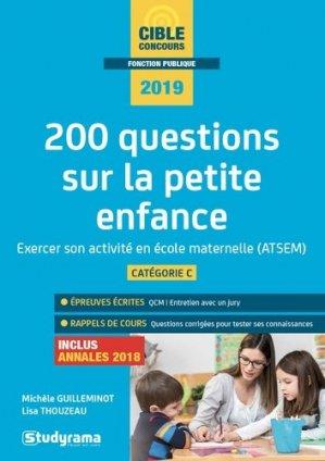 200 questions sur la petite enfance-studyrama-9782759039760