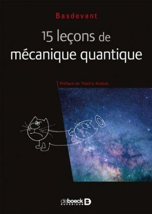 15 leçons de mécanique quantique-De Boeck-9782807321786