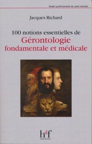 100 notions essentielles de Gérontologie fondamentale et médicale - heures de france - 9782853853552