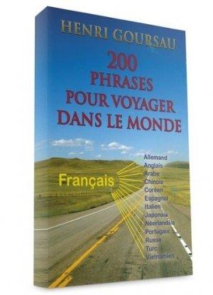 200 phrases pour voyager dans le monde-goursau henri-9782904105586
