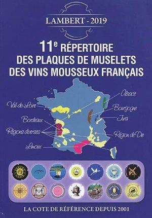 11e répertoire des plaques de muselets des vins mousseux français - petit journal des collectionneurs - 9782954495392