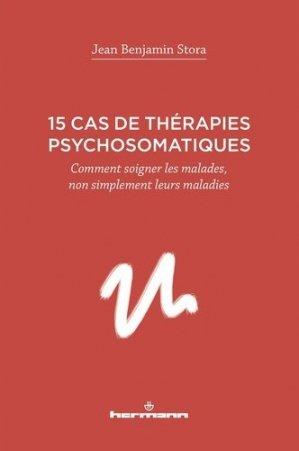 15 cas de thérapies psychosomatiques - Hermann - 9791037001290