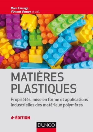 Matières plastiques - dunod - 9782100764778