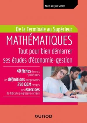 Mathématiques - Tout pour bien démarrer ses études d'économie-gestion-dunod-9782100800803