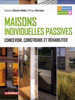 Maisons individuelles passives - le moniteur - 9782281143188