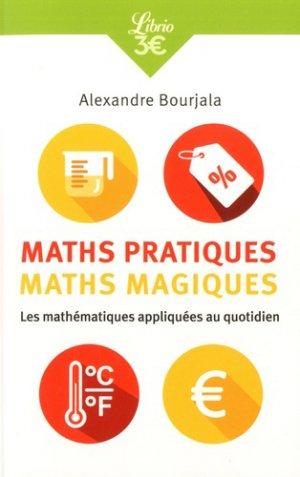Maths pratiques, maths magiques-j'ai lu-9782290173695