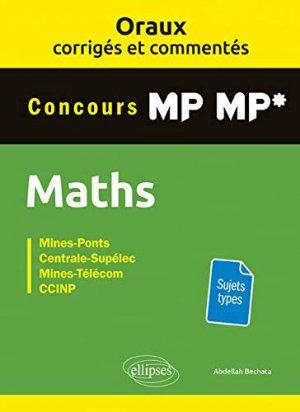Maths concours MP MP*-ellipses-9782340029620