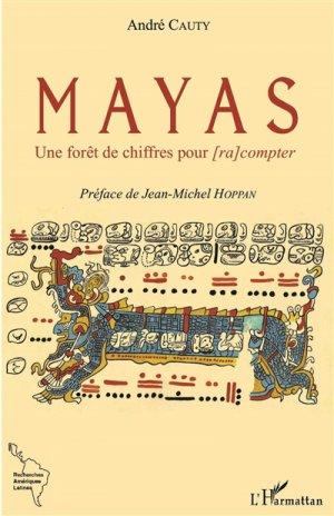 Mayas - Une forêt de chiffres pour [ra compter-l'harmattan-9782343123592