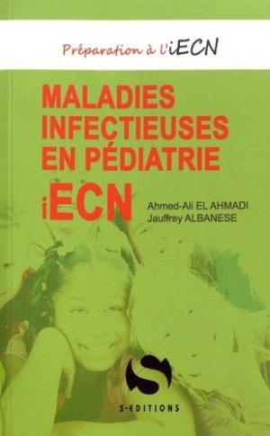 Maladies infectieuses en pédiatrie - s editions - 9782356401618