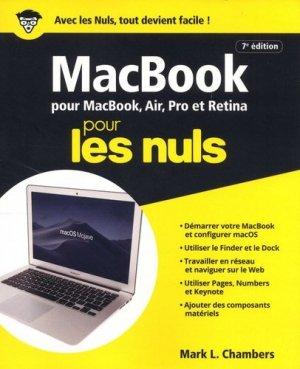 MacBook pour les nuls - First - 9782412043554