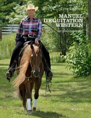 Manuel d'équitation western-actes sud-9782742793402